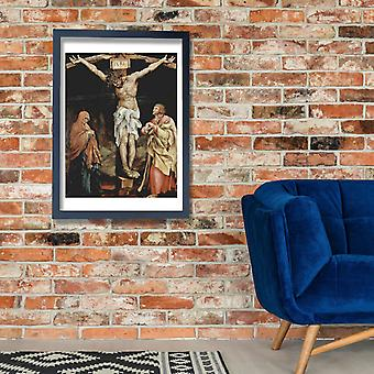 Matthias Grunewald - クロス ポスター印刷ジクレーのイエス