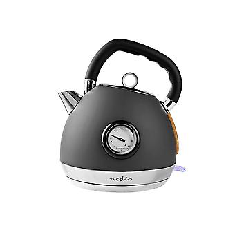Electric Kettle, Grey - Nedis