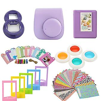 Accessory Sets for Fujifilm Instax Mini 8/9-Light Purple