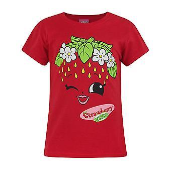 Shopkins Strawberry Kiss Girl's T-Shirt