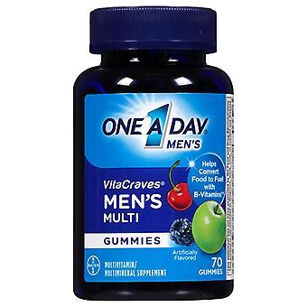 One a day vitacraves men's multivitamin gummies, 70 ea