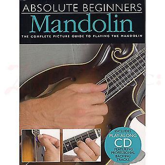 Absolute Beginners Mandolin Book
