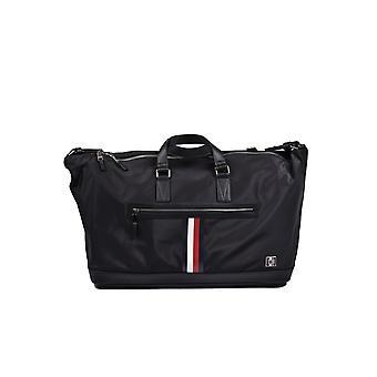 Tommy Hilfiger Clean Nylon Duffle Bag Czarny