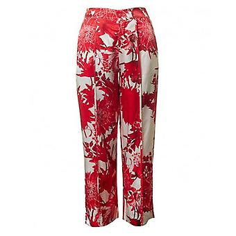 Saint Tropez Flower Print Trousers