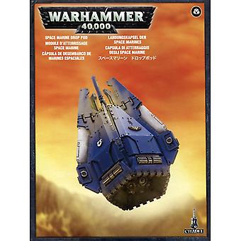 Games Workshop Warhammer 40,000 Space Marine Drop Pod