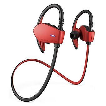 Urheilu Headset mikrofoni energiaa Sistem Sport 1 Bluetooth punainen