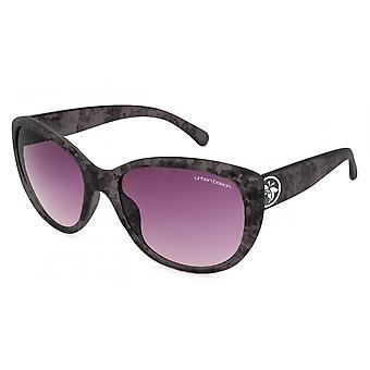 Sonnenbrillen  Damen schwarz/grau