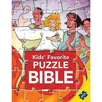 Kids' Favorite Puzzle Bible by Gustavo Mazali - 9788772030012 Book