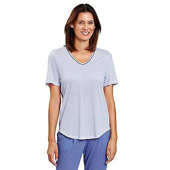 Rsch 1203253-12560 Femmes-apos;s Pure Minimal Blue Pyjama Top