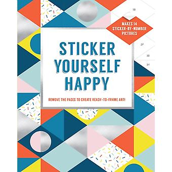 Sticker Yourself Happy Makes 14 StickerbyNumber Pictures