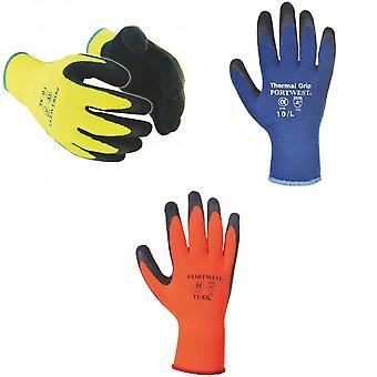 Portwest thermische Grip handschoenen (A140) / werkkleding / Safetywear