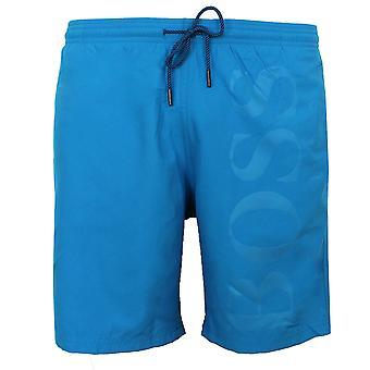 Hugo boss orca men's blue swim shorts