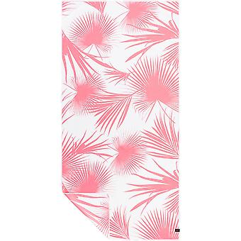Slowtide Day Palms Travel Beach Towel in  Pink
