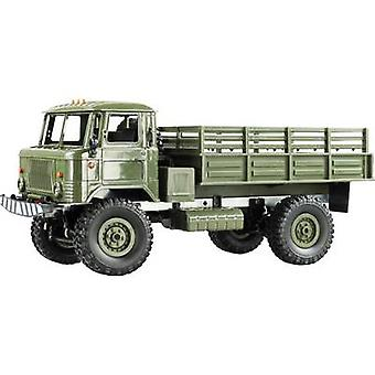 Amewi GAZ-66 Green Brushed 1:16 RC model truck Electric HGV 4WD RtR 2,4 GHz Incl. battery and charging cable