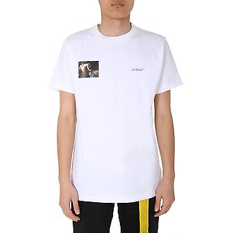 Benvit Omaa027e20jer0090110 Män's White Cotton T-shirt
