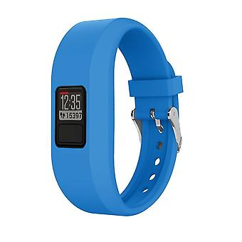 for Garmin Vivofit 4 Strap Band Replacement Classic Buckle Wristband Bracelet[Blue,Does Not Apply]