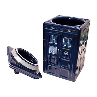Legen Who TARDIS keramisk Cookie Jar