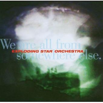 Exploding Star Orchestra - We Are All From Somewhere Else [CD] USA import