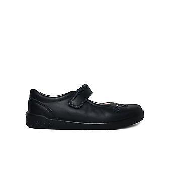 Ricosta Lyla 8626000-170 Navy Leather Girls Mary Jane School Schoenen
