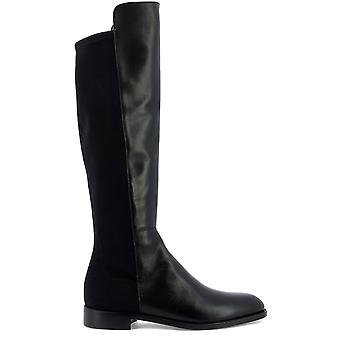Guglielmo Rotta 3916ccalfnero Women's Black Leather Boots