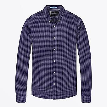 Scotch & Soda  - Classic Cotton Shirt - Navy