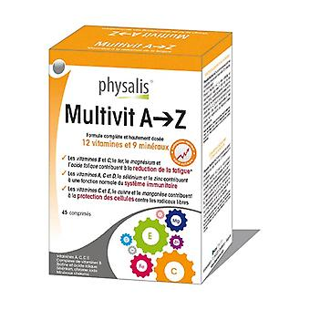 Multivit A -> Z 45 tabletten