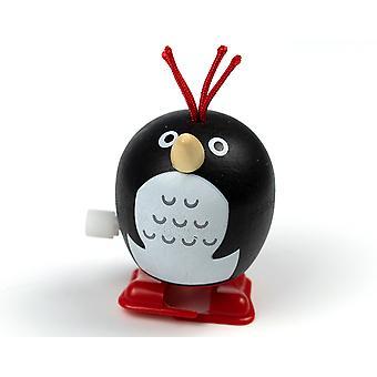 Traditional Wooden Penguin Wind Up Waddler - Cracker Filler Gift