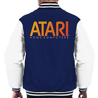 Atari Home Computers Orange Logo Men's Varsity Jacket