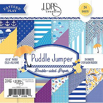 LDRS Creative Puddle Jumper 6x6 Inch Paper Pack
