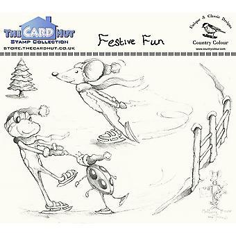 The Card Hut Festive Fun Clear Stamps