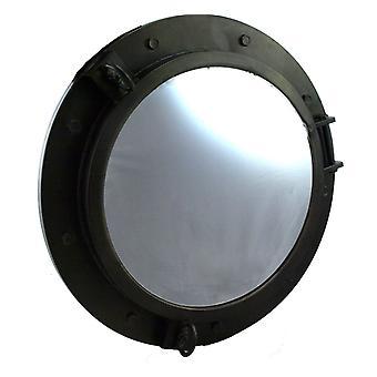 Spiegel Industrial Look d57cm marine