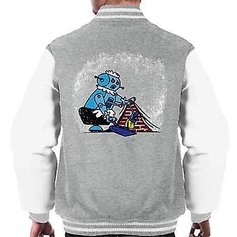 Robot Renare Män's Varsity Jacket