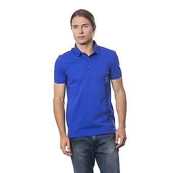 Roberto Cavalli Sport Blue Royal T-shirt -- RO99173360