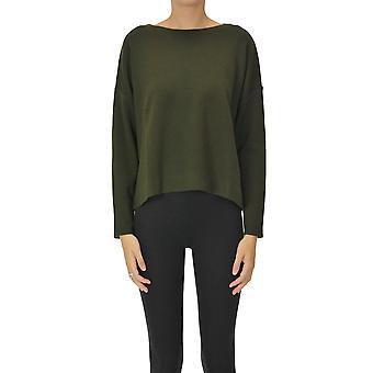 Base Milano Ezgl264063 Women-apos;s Green Wool Sweater