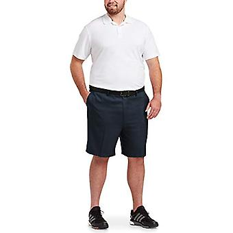 Essentials Men's Big & Tall Quick-Dry Golf Short fit by DXL, Navy, 42