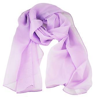 Krawatten Planet Plain Lilac Chiffon Schal