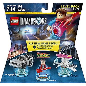 Lego Dimensions Level Pack Back to the Future Video Game Toy