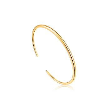 Ania Haie Luxe Minimalism Shiny Gold Luxe Cuff B024-02G