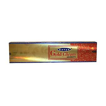 Satya Gold Gleam Incense 20 g