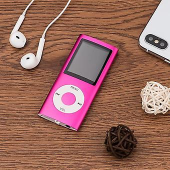 "Mplsbo 1.8"" Lcd 3th Mp3/mp4 Player- Mp3 Player Support Up To 32gb Micro Sd"