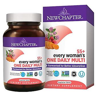 New Chapter Every Woman One Daily 55 Plus, 24 Veg Tabs