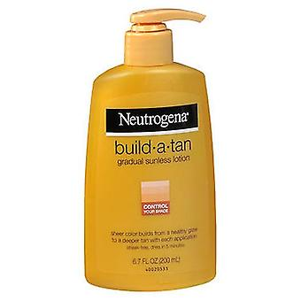 Neutrogena Build-A-Tan Gradual Sunless Lotion, 6.7 Oz