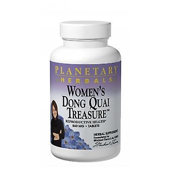 Planetary Herbals Women's Dong Quai Treasure, 60 tabs