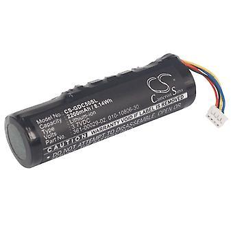 Battery for Garmin 361-00029-02 Alpha 100 T5 TT10 dog tracking training TT15