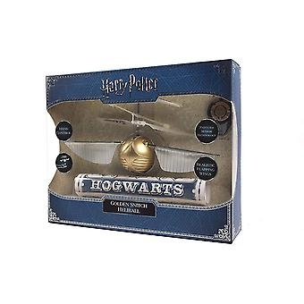 J.K. Rowling-apos;s Wizarding World Golden Flying Snitch Heliball Toy