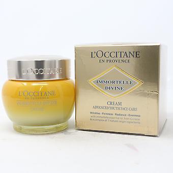 L'occitane Immortelle Divine Cream 1.7oz/50ml uusi laatikko