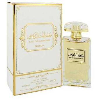 Khaltat Al Dhahabi By Nusuk Eau De Parfum Spray (unisex) 3.4 Oz (men) V728-547128