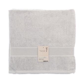 Country Club Bamboo Bath Towel, Silver