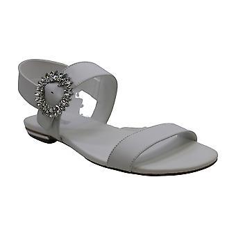 Michael Michael Kors naisten Viola nahka avoin toe rento slingback sandaalit