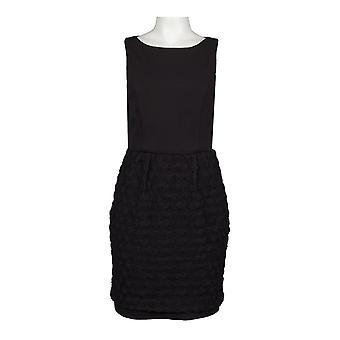 ロゼットスカートのツーピースポンテドレス